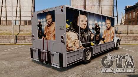 Stars of wrestling on Benson for GTA 4 inner view