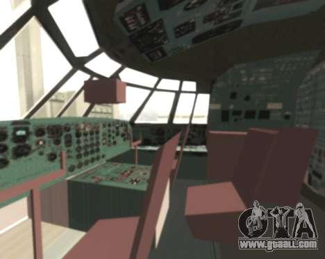 Il-76td Samara for GTA San Andreas back view