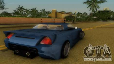Toyota MR-S Veilside Hardtop for GTA Vice City right view