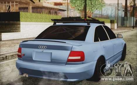 Audi S4 Hellaflush for GTA San Andreas left view