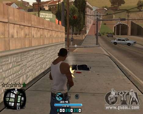 C-HUD Old Tawer for GTA San Andreas