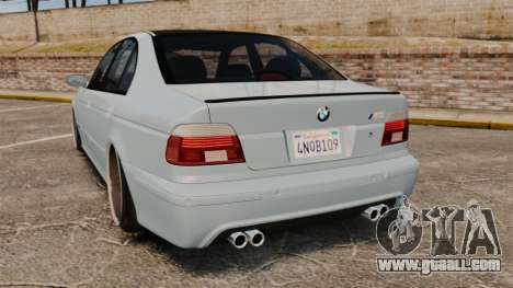 BMW M5 E39 2003 for GTA 4 back left view