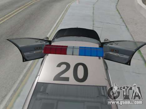 Chevrolet Caprice LAPD 1991 [V2] for GTA San Andreas right view