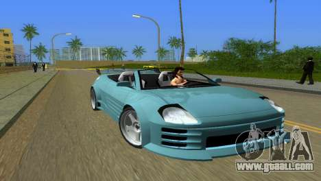 Mitsubishi Eclipse GT 2001 for GTA Vice City