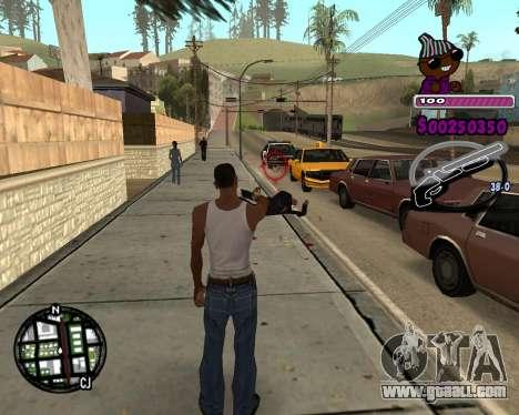 C-HUD for Ballas for GTA San Andreas