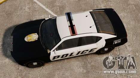 GTA V Buffalo Police for GTA 4 right view