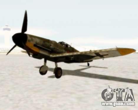 Bf-109 G6 for GTA San Andreas