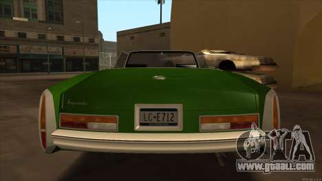 Esperanto HD from GTA 3 for GTA San Andreas right view