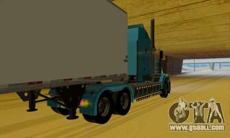 Kenworth T908 for GTA San Andreas back left view