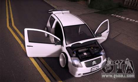 Citroen C2 Tuned for GTA San Andreas side view
