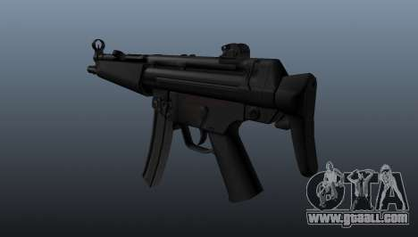 HK MP5A5 submachine gun for GTA 4 second screenshot