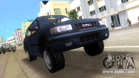 Opel Frontera for GTA Vice City left view