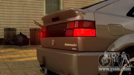 Volkswagen Corrado VR6 1995 for GTA 4 inner view