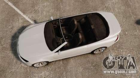 GTA V Zion XS Cabrio [Update] for GTA 4 right view