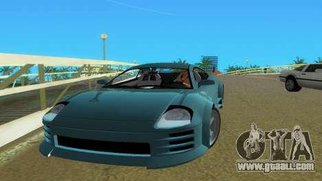 Mitsubishi Eclipse GT 2001 for GTA Vice City right view