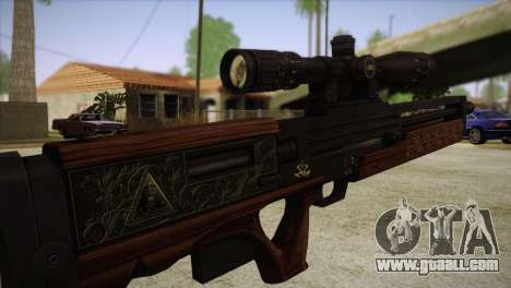 Walther WA2000 for GTA San Andreas third screenshot