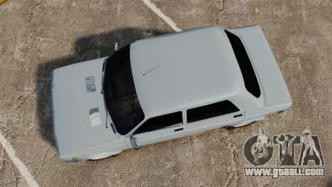 Zastava 128 for GTA 4 right view