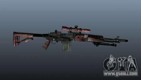 Sniper rifle M21 Mk14 v5 for GTA 4 third screenshot