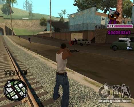 C-HUD for Ballas for GTA San Andreas second screenshot