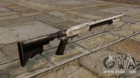 New pump-action shotgun for GTA 4 second screenshot