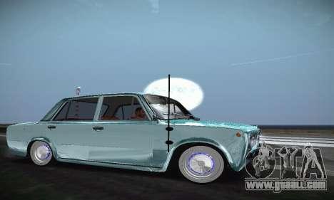 VAZ 2101 Resto for GTA San Andreas back left view