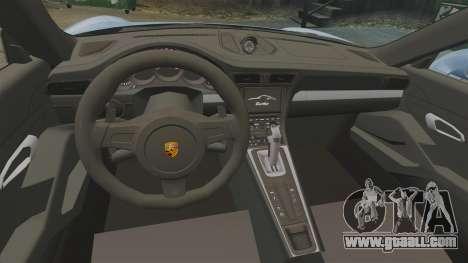 Porsche 911 Turbo 2014 [EPM] KW iSuspension for GTA 4 inner view
