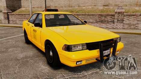 GTA V Gen Vapid LCC Taxi for GTA 4
