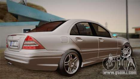 Mercedes-Benz C32 AMG 2004 for GTA San Andreas right view