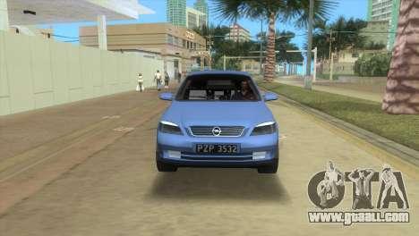 Opel Astra 4door 1.6 TDi Sedan for GTA Vice City back left view