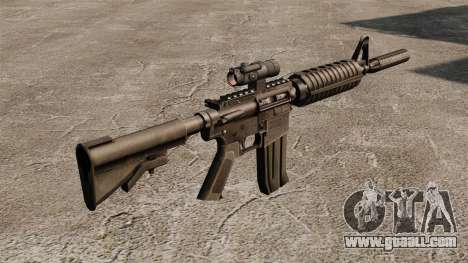 CAR-15 M4 carbine for GTA 4 second screenshot