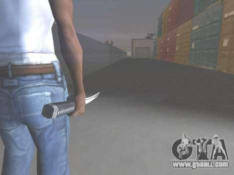 CSO Katana for GTA San Andreas second screenshot