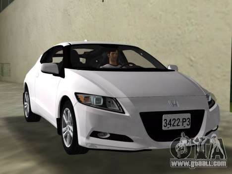 Honda CR-Z 2010 for GTA Vice City side view
