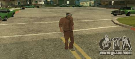 Skin Kelly from GTA Vice City Beta for GTA San Andreas