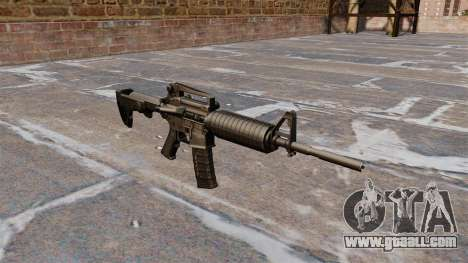 Semi-automatic AR-15 rifle for GTA 4