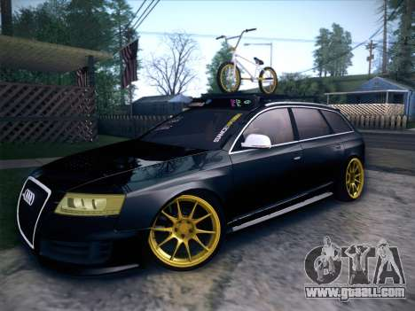 Audi Avant RS6 LowStance for GTA San Andreas