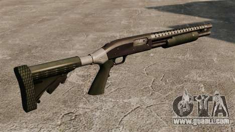 Pump-action shotgun Mossberg 590 for GTA 4 second screenshot