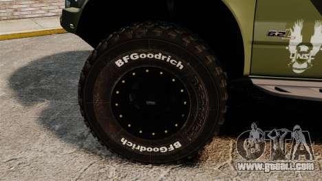 Ford F150 SVT 2011 Raptor Baja [EPM] for GTA 4 back view