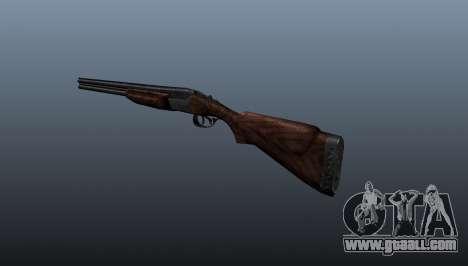 Double-barreled shotgun ТОЗ-34 for GTA 4 second screenshot