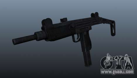 IMI Uzi submachine gun for GTA 4