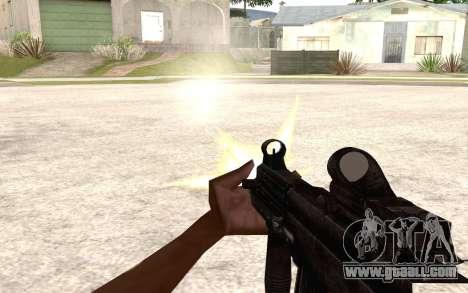 UMP 45 for GTA San Andreas forth screenshot