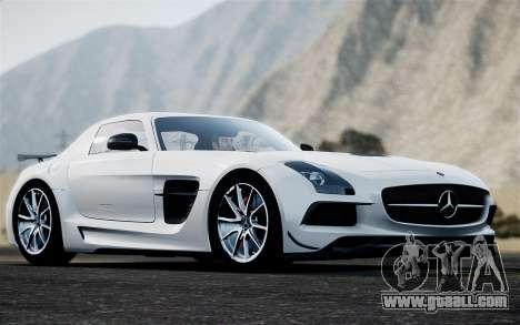 Mercedes-Benz SLS AMG Black Series 2014 for GTA 4