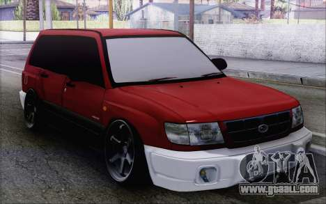 Subaru Forester Hellaflush for GTA San Andreas
