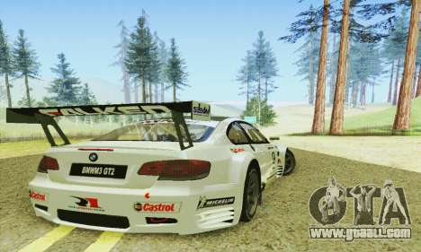BMW M3 GT2 E92 ALMS for GTA San Andreas right view