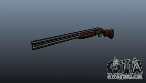 Double-barreled shotgun ТОЗ-34 for GTA 4