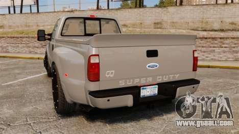 Ford F-350 Pitbull v2.0 for GTA 4 back left view
