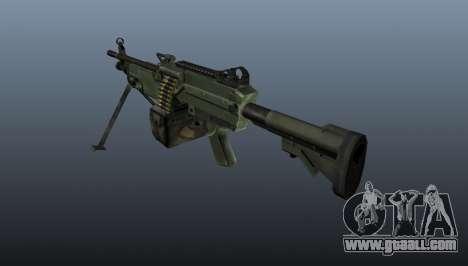 The C9 light machine gun for GTA 4 second screenshot