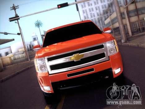 Chevrolet Cheyenne LT 2008 for GTA San Andreas inner view