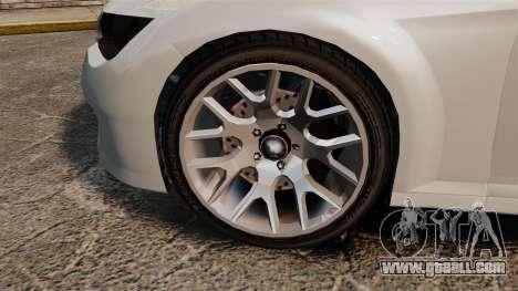 GTA V Zion XS Cabrio [Update] for GTA 4 back view
