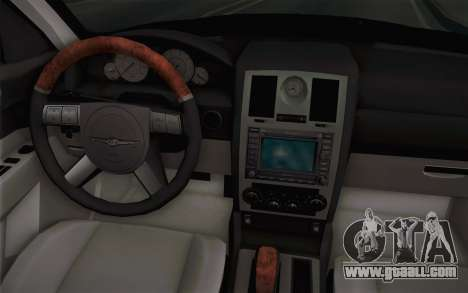 Chrysler 300C Limo 2007 for GTA San Andreas interior