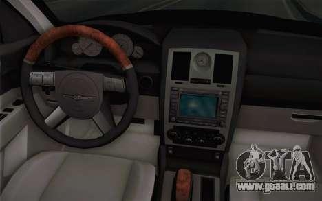 Chrysler 300C Limo 2007 for GTA San Andreas interior